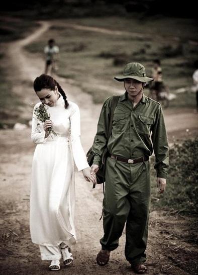 Những bộ ảnh cưới mang phong cách độc lạ của sao Việt-22