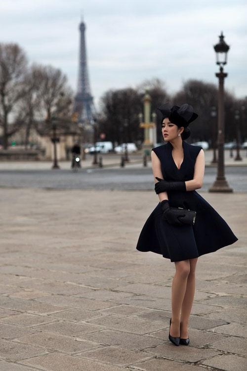 Học cách đeo găng tay sang chảnh đẹp như Lý Nhã Kỳ - Angela Phương Trinh-6