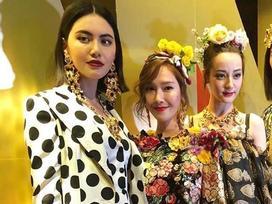 Địch Lệ Nhiệt Ba, Jessica bị chê kém sắc khi đứng chung khung hình với mỹ nhân Thái Lan Mai Davika