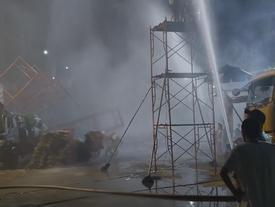 Hậu trường quay phim dưới mưa nhân tạo của 'Hậu duệ mặt trời'