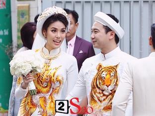 NHẦM TO: Hôm nay không phải đám hỏi mà chính là ngày cưới của Lan Khuê - Tuấn John