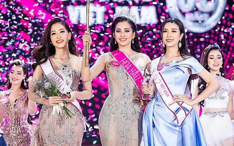 Sau 1 tháng đình đám, Kiều Minh Tuấn đã chịu nhường sân cho top 3 Hoa Hậu Việt Nam chiếm sóng-2