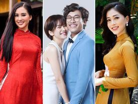 Sau 1 tháng đình đám, Kiều Minh Tuấn đã chịu nhường sân cho top 3 Hoa Hậu Việt Nam chiếm sóng
