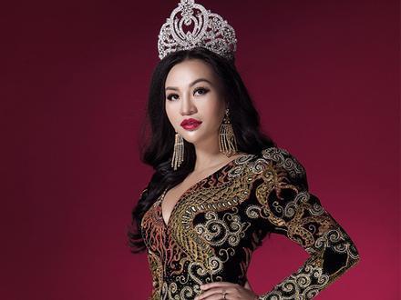 Trần Huyền Nhung tiết lộ về chiếc đầm mặc khi đăng quang