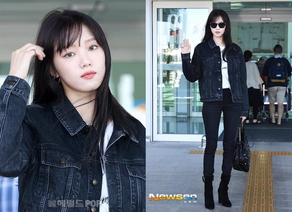 Tiên nữ cử tạ Lee Sung Kyung xuất hiện xinh đẹp với mái tóc đen tuyền-1