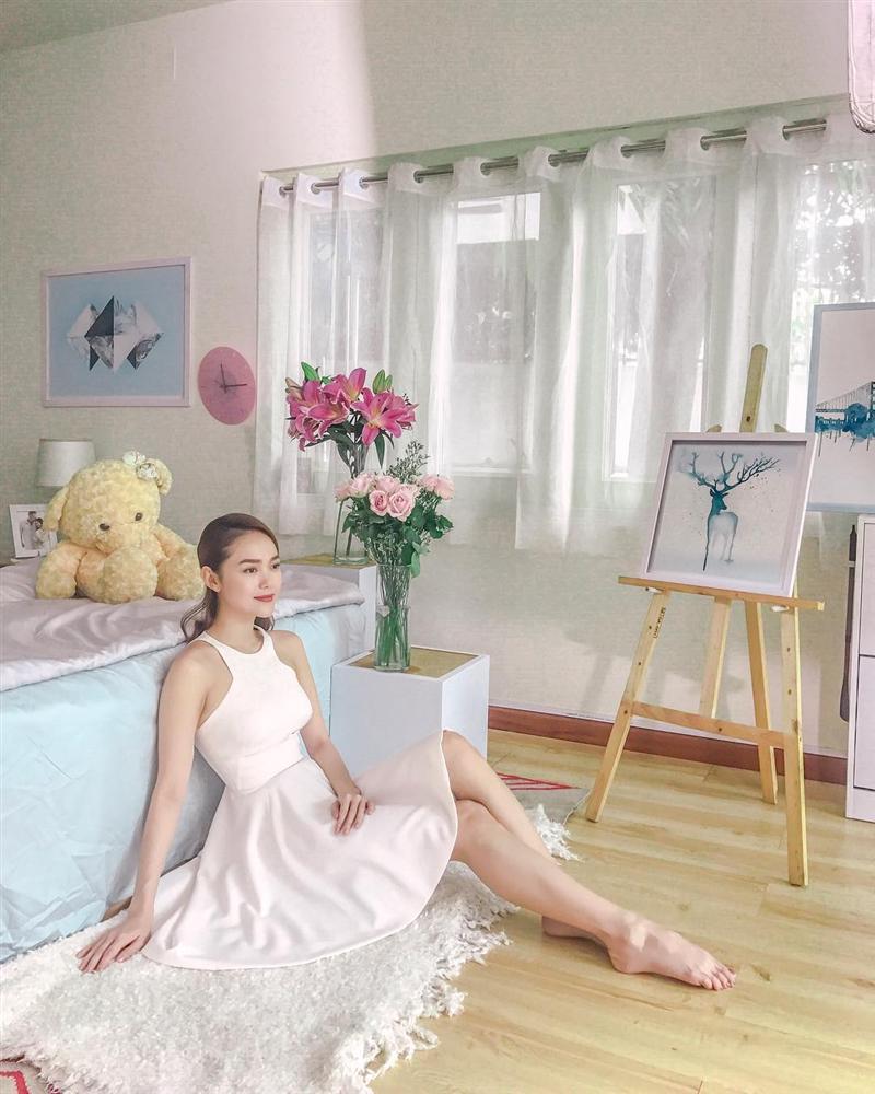 Hoa hậu Đặng Thu Thảo khoe bữa ăn rau củ đầu tiên của con gái-7