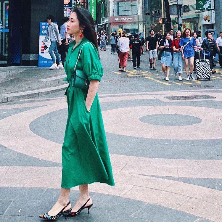 Hòa Minzy ăn gian chiều cao với giày cao 20 cm-6