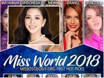 Để hút vận may tại Hoa hậu Thế giới 2018, Trần Tiểu Vy nên chọn đầm dạ hội màu gì mới thực sự hợp phong thủy?-13