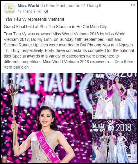 Không có tên Trần Tiểu Vy trong dự đoán top 15 nhan sắc có cơ hội chạm vương miện Hoa hậu Thế giới 2018-3