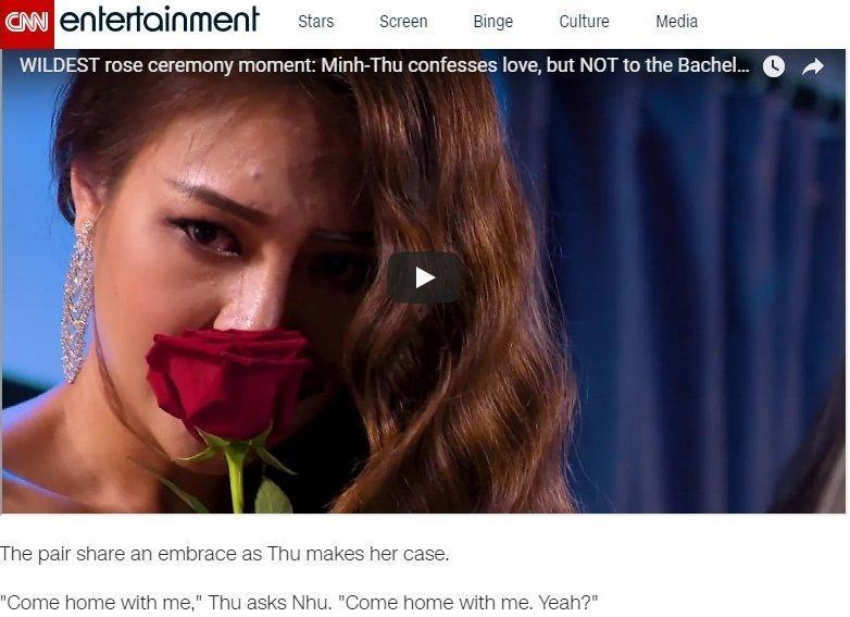 Báo quốc tế rầm rộ đưa tin hai cô gái tỏ tình với nhau trên truyền hình Việt-2