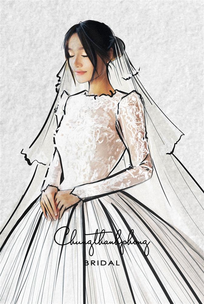Những chiếc váy cưới đẹp như cổ tích của 5 cô dâu đình đám nhất showbiz Việt năm 2018-5
