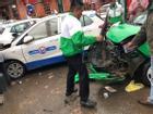 Con nghiện lái xe gây tai nạn liên hoàn nhiều người thoát chết