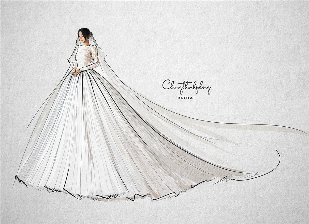 Choáng ngợp mẫu váy cưới hoành tráng nhất Nhã Phương sẽ mặc khi chính thức thành vợ Trường Giang tối nay-2