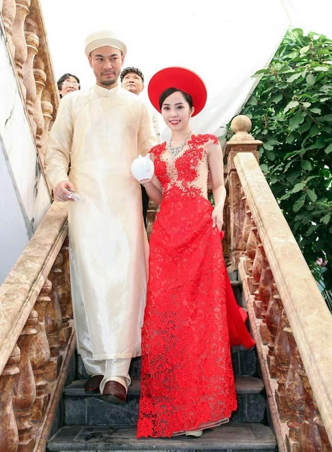 Muốn đẹp xuất sắc trong ngày ăn hỏi, hãy chọn áo dài đỏ như Nhã Phương - Hà Tăng - Đặng Thu Thảo-8