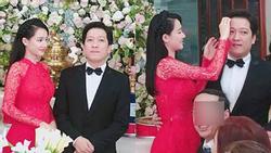 Nhã Phương bị soi vòng 2 to bất thường trong ngày làm cô dâu của Trường Giang