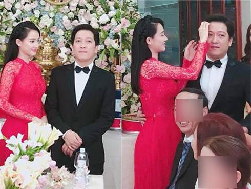 Nhã Phương bị soi vòng 2 to bất thường trong ngày làm cô dâu của Trường Giang-4