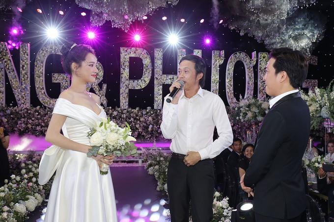 Hoài Linh hát tặng đám cưới Trường Giang - Nhã Phương ca khúc có tên đặc biệt-4