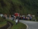 Xe khách rơi trên đèo Hải Vân, 21 sinh viên bị nạn-5