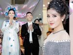 Á Hậu Huyền My diện áo dài trăm triệu tái xuất sàn catwalk, khoe sắc bên dàn mỹ nhân Việt