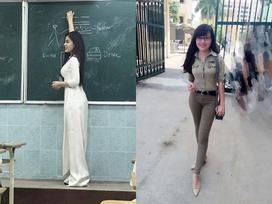 3 cô giáo nổi tiếng trên mạng nhờ có vẻ ngoài xinh đẹp, gợi cảm