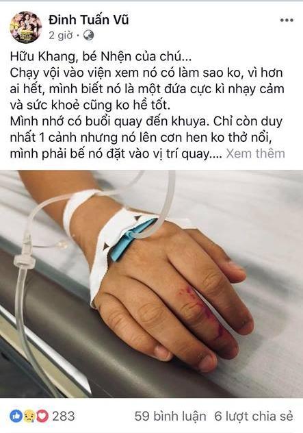 Sao nhí Chú Ơi, Đừng Lấy Mẹ Con nhập viện vì bị chửi rủa dù không liên quan chuyện Kiều Minh Tuấn yêu An Nguy-4