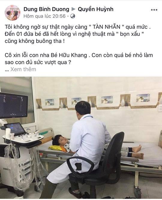 Sao nhí Chú Ơi, Đừng Lấy Mẹ Con nhập viện vì bị chửi rủa dù không liên quan chuyện Kiều Minh Tuấn yêu An Nguy-3