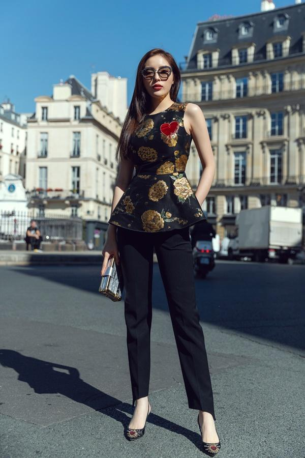 SAO CHƠI HÀNG HIỆU THÁNG 9: Kỳ Duyên rút ví 500 triệu chỉ để 1 lần chinh chiến Paris Fashion Week-1