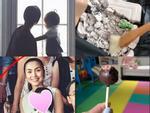 Tiểu công chúa vừa tròn 1 tuổi, Tăng Thanh Hà làm điệu cho con bằng tủ phụ kiện nhiều không đếm xuể-9