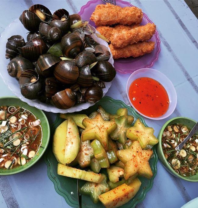Dạo quanh chợ Nghĩa Tân có đủ món ăn ngon - bổ - rẻ không quá 50 nghìn đồng-6