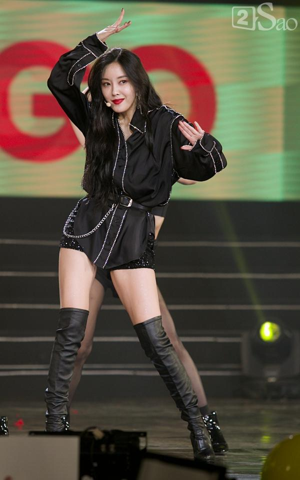 Queens Việt xem không chớp mắt trước màn biểu diễn vô cùng sexy của Hyomin-5