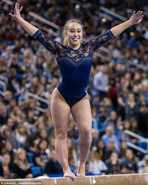 Nữ VĐV thể dục nhịp điệu gây chấn động nước Mỹ với tiết mục dự thi đạt điểm tuyệt đối-1