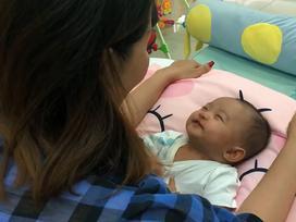 Sinh non 2,2kg thế mà chỉ sau 3 tháng, 'tiểu công chúa' nhà Khánh Thi dễ thương không nhận ra