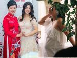 Chụp ảnh cùng gia đình, nhan sắc con gái út nghệ sĩ Chiều Xuân lấn lướt mẹ và chị-7
