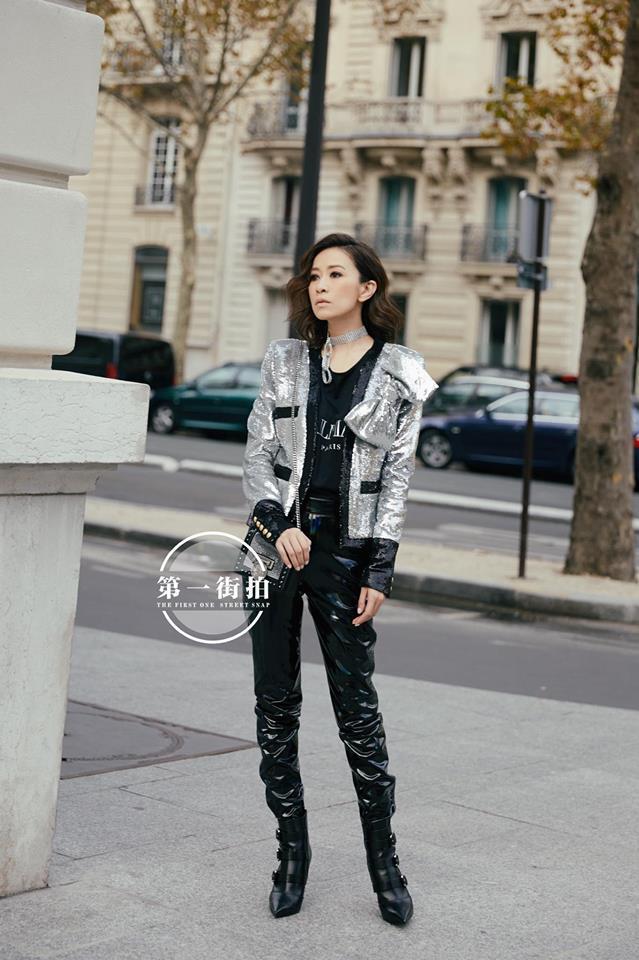Diên Hi Công Lược quá hot, Xa Thi Mạn đứng giữa Paris vẫn bị gào thất thanh Hoàng hậu nương nương-3