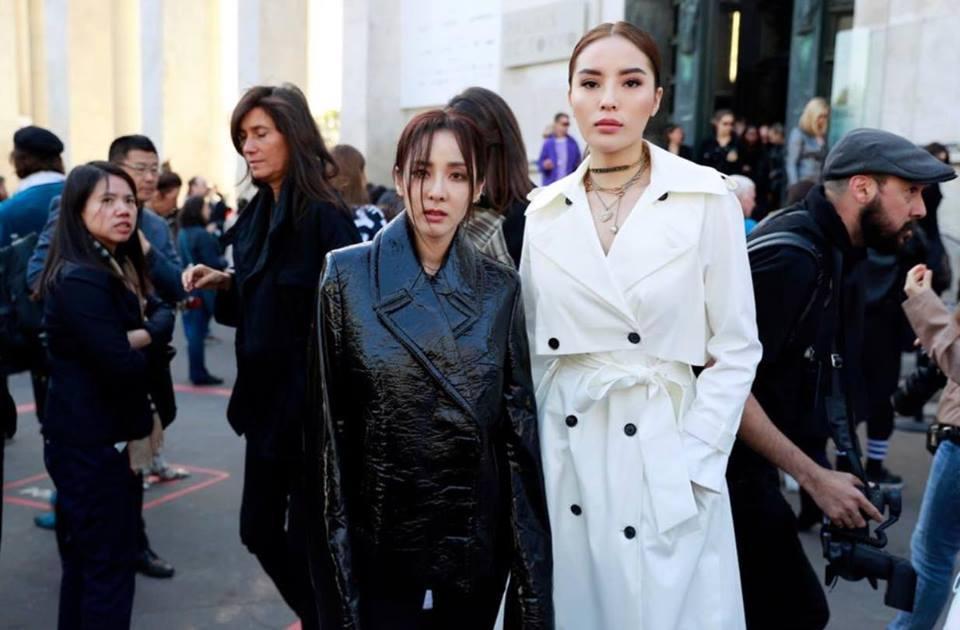 Hội ngộ ở Paris Fashion Week, Kỳ Duyên đánh sập mỹ nhân không tuổi Dara cả thần thái lẫn vóc dáng-1