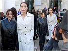 Hội ngộ ở Paris Fashion Week, Kỳ Duyên 'đánh sập' mỹ nhân không tuổi Dara cả thần thái lẫn vóc dáng