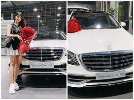 Trước ngày hạ sinh con gái, Diệp Lâm Anh được chồng đại gia 'tậu' xe hơi tiền tỉ