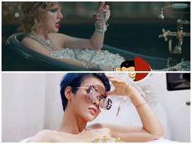 Vũ Cát Tường gây tranh cãi vì bị cho là bắt chước Taylor Swift