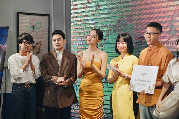 Hương Giang Idol khoe vòng 1 gợi cảm, liên tục giữ dây áo vì quá mảnh-7