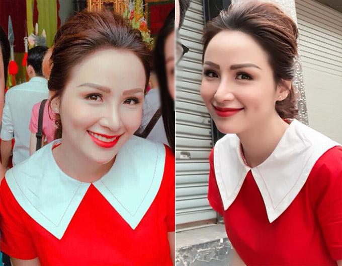 Cận cảnh gương mặt nhọn hoắt như phù thủy của Hoa hậu Diễm Hương sau nghi án phẫu thuật thẩm mỹ-6