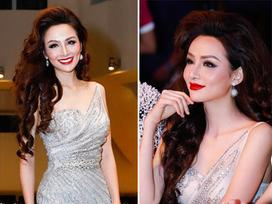 Cận cảnh gương mặt nhọn hoắt như phù thủy của Hoa hậu Diễm Hương sau nghi án phẫu thuật thẩm mỹ