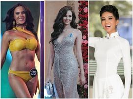 Đối thủ cực mạnh của H'Hen Niê bất ngờ giảm cân ngoạn mục để tranh vương miện Miss Universe 2018