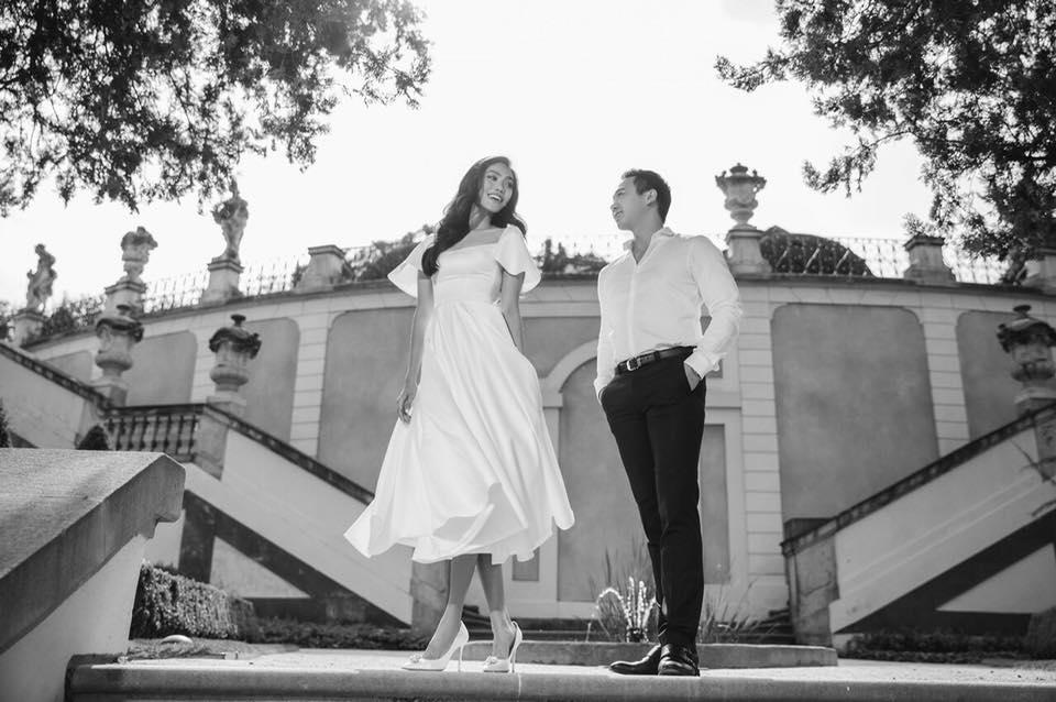 4 ngày trước đám cưới, doanh nhân Tuấn John khoe ảnh tình bể bình với Lan Khuê tại Paris-3