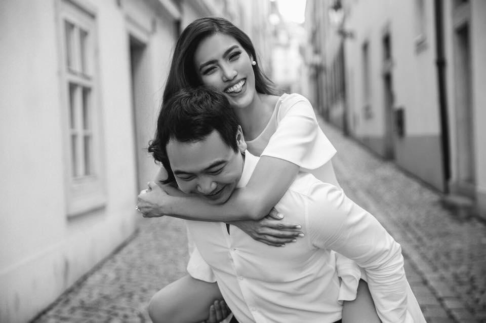 4 ngày trước đám cưới, doanh nhân Tuấn John khoe ảnh tình bể bình với Lan Khuê tại Paris-4