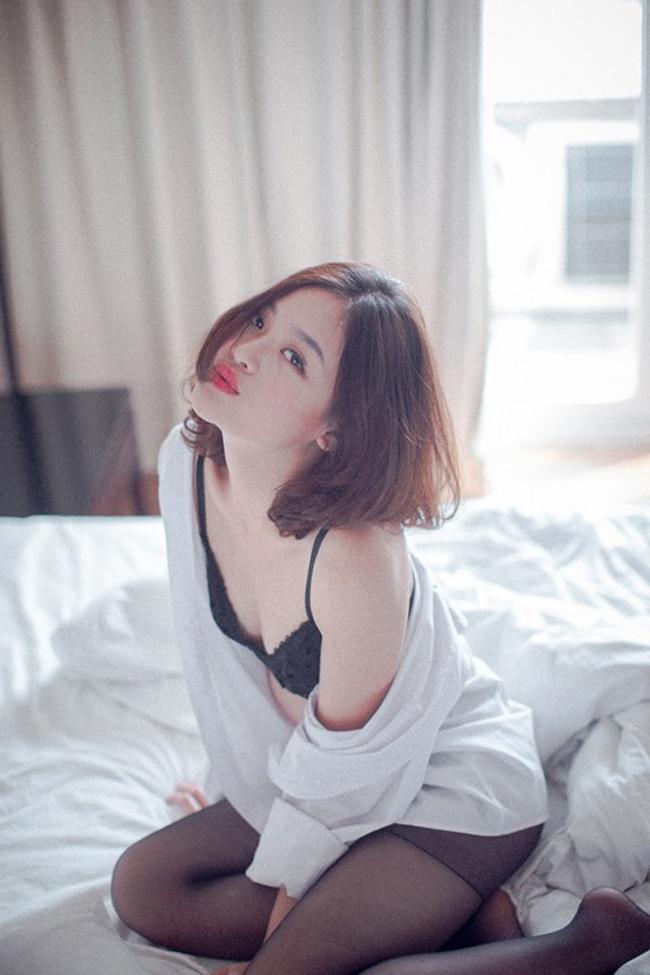 Vẻ sexy khó cưỡng của những mỹ nữ đóng cảnh nóng bạo nhất Việt Nam-11
