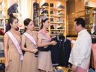Top 3 hoa hậu Việt Nam 2018 mua jean chuẩn bị thi quốc tế