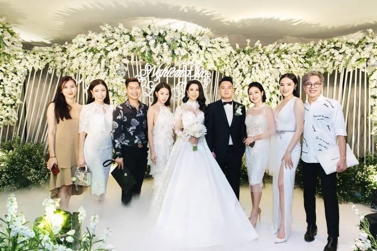 Chỉ là đi dự tiệc cưới thôi, nhiều sao Việt bị chỉ trích vì vô tâm lên đồ lấn lướt cả cô dâu - chú rể-5