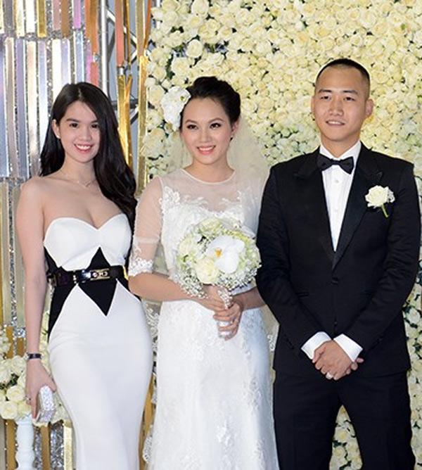 Chỉ là đi dự tiệc cưới thôi, nhiều sao Việt bị chỉ trích vì vô tâm lên đồ lấn lướt cả cô dâu - chú rể-9