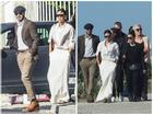 Vợ chồng David Beckham bảnh bao đi chơi cùng hội bạn thân nổi tiếng