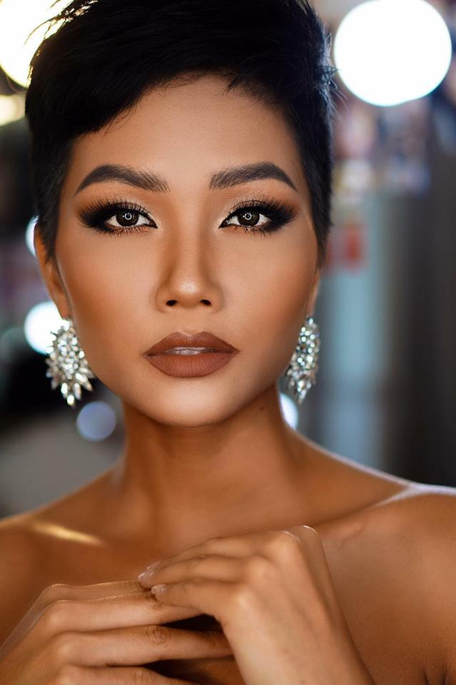 Quá yêu tóc tém, khán giả quốc tế đồng loạt bài trừ HHen Niê mang tóc dài chinh chiến Miss Universe 2018-5